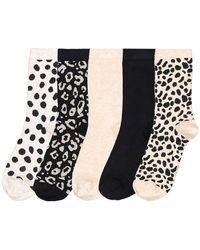 La Redoute Lot de 5 paires de chaussettes - Noir