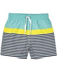 La Redoute - Striped Swim Shorts, 3-12 Years - Lyst