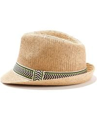 La Redoute - Hat With Print Braiding - Lyst