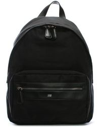 Class Roberto Cavalli Hunter Black Nylon Backpack