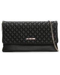 Love Moschino - Boxer Black Quilted Cross-body Bag - Lyst