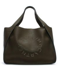 3efee43f74 Lyst - Stella Mccartney Falabella Tote Bag in Yellow