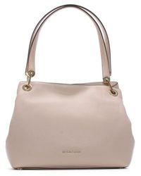 Michael Kors Raven Large Soft Pink Leather Shoulder Bag Accessories: O