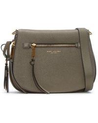 Marc Jacobs Recruit Nomad Mink Leather Saddle Bag - Multicolour