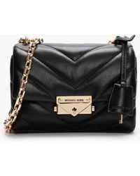 Michael Kors Cece Canvas Chain Xbody Bag Black