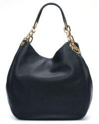 Michael Kors - Large Fulton Admiral Leather Shoulder Tote Bag - Lyst