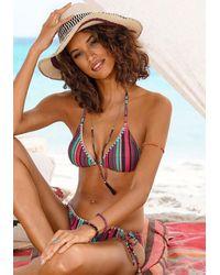 s.Oliver Beachwear Nu 20% Korting: Triangelbikini - Roze