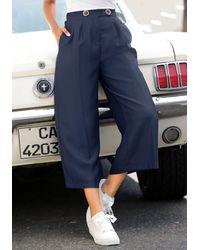 Lascana Pantaloni culotte - Blu