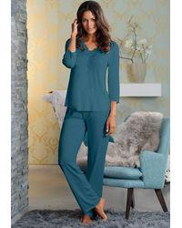 Lascana Pyjama - Groen