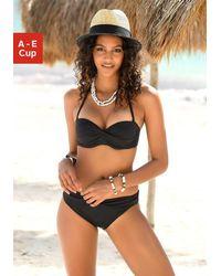 s.Oliver Beachwear S.oliver Red Label Beachwear Beugel-bandeautop Spain - Zwart