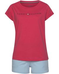 Tommy Hilfiger Nu 20% Korting: Pyjama - Rood