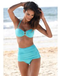 Lascana Nu 21% Korting: Highwaist-bikinibroekje - Groen