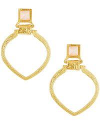 Stephanie Kantis Tier Door-knocker Earrings - Metallic