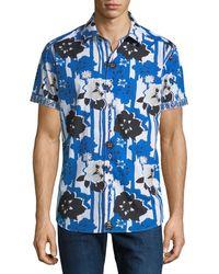 Robert Graham - Classic-fit Colquitt Short-sleeve Sport Shirt - Lyst