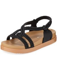 Melissa - Cosmic Braided Ankle-strap Jelly Sandals - Lyst