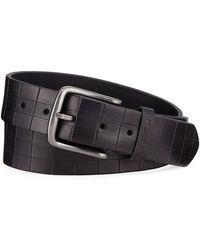 Joe's - Men's Square-stamped Leather Belt - Lyst