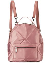 Neiman Marcus - Quilted Satin Backpack - Lyst