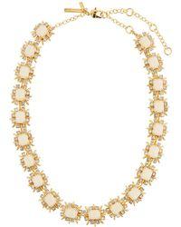 Lele Sadoughi | Solstice Crystal Collar Necklace | Lyst