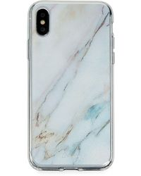 Casery Luxe Marble Phone Case For Iphone X/xs - Blue
