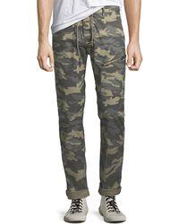 Antony Morato - Men's Camouflage Carrot Trousers - Lyst