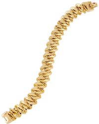 Roberto Coin - 18k Yellow Gold Curb Chain Bracelet - Lyst