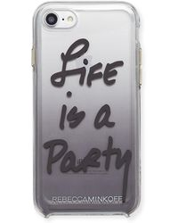 Rebecca Minkoff - Life Is A Party Ombré Phone Case - Lyst