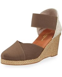 Andre Assous - Anouka Woven Wedge Espadrilles - Lyst