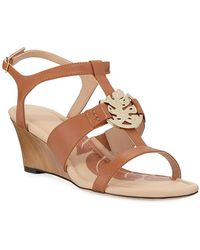 4c92298ef Tommy Bahama - Ivy Sands Leather Wedge Sandals - Lyst