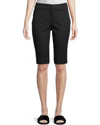 "Neiman Marcus   13"" Stretch-cotton Walking Shorts   Lyst"