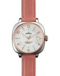 Shinola - 36mm Gomelsky Two-tone Watch - Lyst