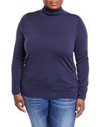 Lafayette 148 New York - Modern Wool Turtleneck Sweater - Lyst