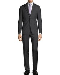 Neiman Marcus - Slim-fit Two-piece Wool Suit - Lyst