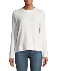 Knot Sisters - Jenna Thermal-knit Top - Lyst