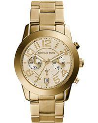 MICHAEL Michael Kors - 42mm Mercer Chronograph Bracelet Watch - Lyst