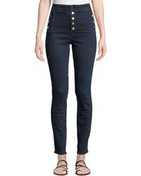 J Brand - Natasha Sky High-waist Skinny Jeans - Lyst