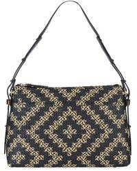 Eric Javits Athena Squishee Shoulder Bag - Black