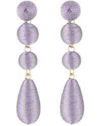 Lydell NYC - Wrapped Linear Earrings - Lyst