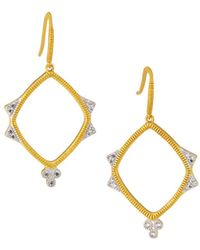 Freida Rothman - Visionary Fusion Open-drop Clover Earrings - Lyst