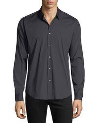 Theory - Men's Wealth Sylvain Slim-fit Sport Shirt - Lyst