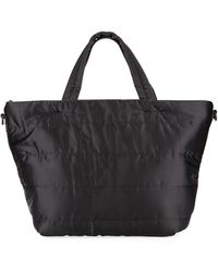 Neiman Marcus - Quilted Nylon Tall Tote Bag - Lyst