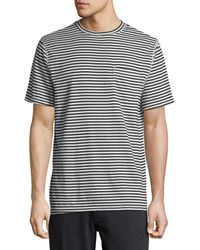 Sovereign Code - Men's Father Striped Crewneck T-shirt - Lyst