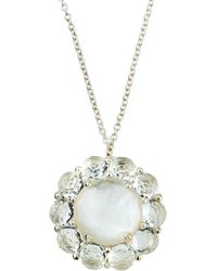 Ippolita - Rock Candy Flower Pendant Necklace In Clear Quartz & Mother-of-pearl Doublet - Lyst