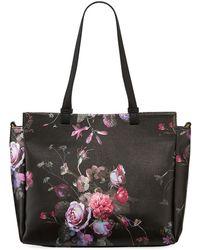Elliott Lucca Feya Faux-leather Tote Bag - Black