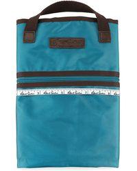 Robert Graham Plaid-line Soft Garment Bag - Purple
