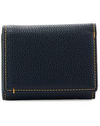 Robert Graham Capria Leather Tri-fold Wallet - Blue