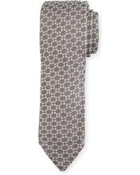 Hook + Albert - Square-print Knit Tie - Lyst