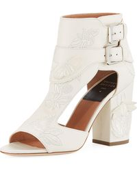 Laurence Dacade - Rush Embroidered Leather Sandals - Lyst