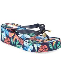 Tommy Bahama Island Wedge Thong Sandals