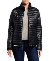 Marc New York Packable Puffer Jacket - Black