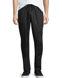 ATM - Raw-hem Drawstring Sweatpants - Lyst